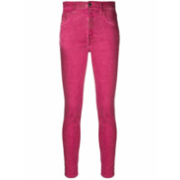 Just Cavalli Calça Jeans Skinny Com Tachas - Rosa