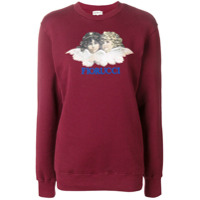 Fiorucci Suéter Com Estampa De Logo - Vermelho