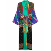 Rianna + Nina Printed Kimono Robe - Multicoloured