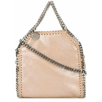 Stella Mccartney Bolsa Tote Falabella Super Mini - Neutro
