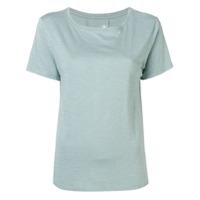 Juvia Camiseta Decote Arredondado - Azul