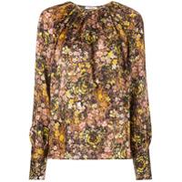 Co Blusa Com Estampa Floral - Estampado