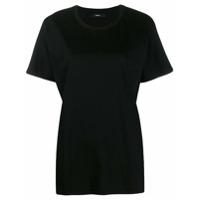 Diesel Camiseta T-Kyr-A Com Modelagem Solta - Preto