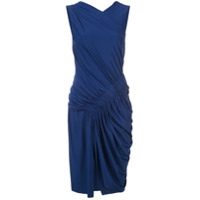 Jason Wu Collection Vestido Com Franzido - Azul