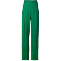 Michelle Mason Calça Pantalona - Verde
