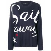 Weekend Max Mara Suéter 'sail Away' - Azul
