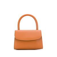 By Far Sctructured Mini Bag - Marrom