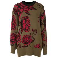 Osklen Suéter Roses Jacquard - Verde