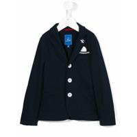 Fay Kids Blazer Com Três Botões - Azul