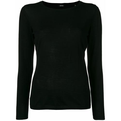 Imagem de Aspesi Blusa de tricô slim - Preto