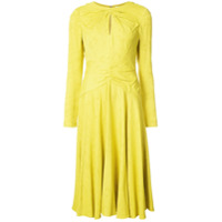Prabal Gurung Vestido Midi - Amarelo