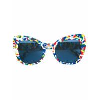 Dolce & Gabbana Eyewear Óculos De Sol Estampado