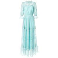 Copurs Vestido Com Renda - Azul