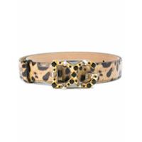Dolce & Gabbana Cinto Animal Print De Couro - Ha93M