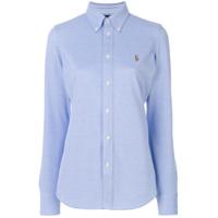 Polo Ralph Lauren Camisa Slim - Azul