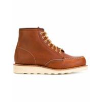 Red Wing Shoes Bota De Couro - Marrom