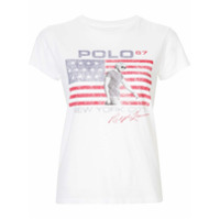 Polo Ralph Lauren Camiseta Com Estampa Gráfica - Branco