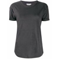 Isabel Marant Étoile Camiseta Slim De Linho - Cinza