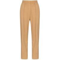 Materiel Calça Pantalona Com Pregas - Neutro