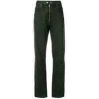 Gmbh Calça Jeans Reta - Verde