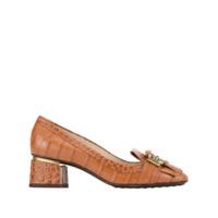 Tod's Sapato Com Franjas - Marrom