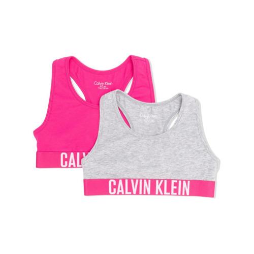 Imagem de Calvin Klein Kids Conjunto 2 peças com logo - Cinza