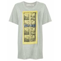 Tu Es Mon Trésor 'no Fair' Oversized T-Shirt - Cinza
