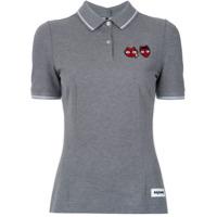 Dolce & Gabbana Camisa Polo - Cinza