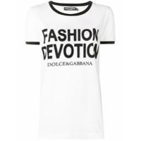 Dolce & Gabbana Camiseta Mangas Curtas - Branco
