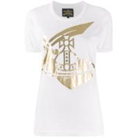 Vivienne Westwood Anglomania Camiseta Com Estampa De Logo - Branco