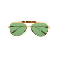 Jacques Marie Mage Óculos De Sol Aviador - Dourado