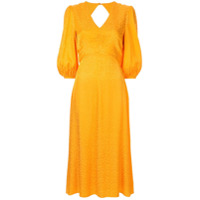 Rebecca Vallance Vestido Midi Isobella Evasê - Amarelo