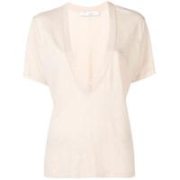 Iro Camiseta Decote Em V - Branco