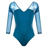 Brigitte Body Com Tule - Azul
