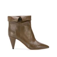 Isabel Marant Ankle Boot Larel - Verde