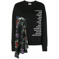 Each X Other Moletom Com Estampa Floral - Preto