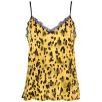 Anine Bing Camisola Golden Leo - Amarelo