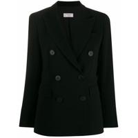 Alberto Biani Double Breasted Jacket - Preto