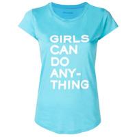 Zadig&voltaire Camiseta Com Slogan - Azul