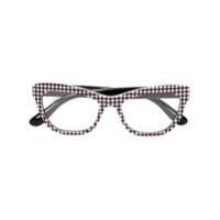 Dolce & Gabbana Eyewear Óculos De Grau Estampado - Preto