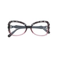 Swarovski Eyewear Armação De Óculos 'charivari' - Rosa