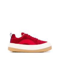 Eytys Sonic Chunky Sneakers - Vermelho