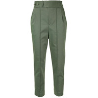 Frei Ea Cropped Tapered Trousers - Verde