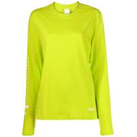 Reebok X Victoria Beckham Camiseta Com Estampa - Amarelo