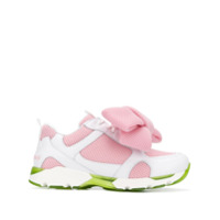 Joshua Sanders Bow-Detail Sneakers - Rosa