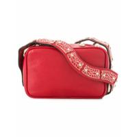 Red Valentino Bolsa Tiracolo De Couro - Vermelho