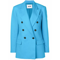 Msgm Blazer Formal - Azul