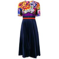 Mary Katrantzou Vestido Floral - Azul