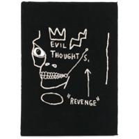 Olympia Le-Tan Clutch Livro 'basquiat Revenge' - Preto