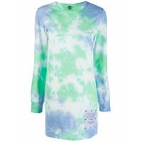 Mcq Vestido Genesis Tie-Dye - Azul
